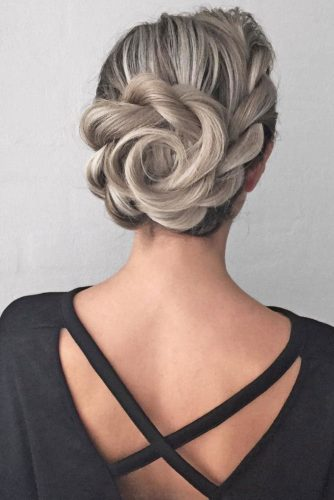 Braided Updos for Medium Length Hair picture 1