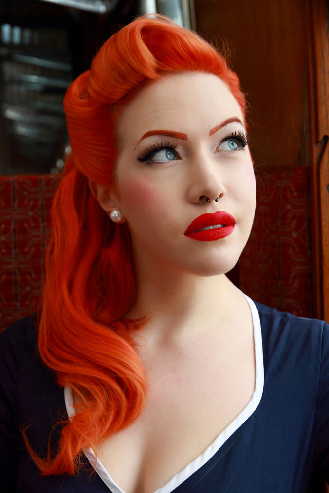 Retro Rocker Chick Updos