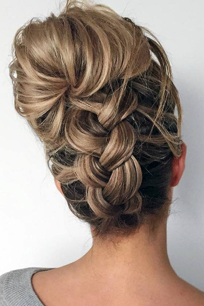 Braided Updos for Medium Length Hair picture2