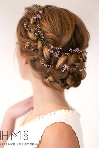 Braided Updos for Medium Length Hair picture3
