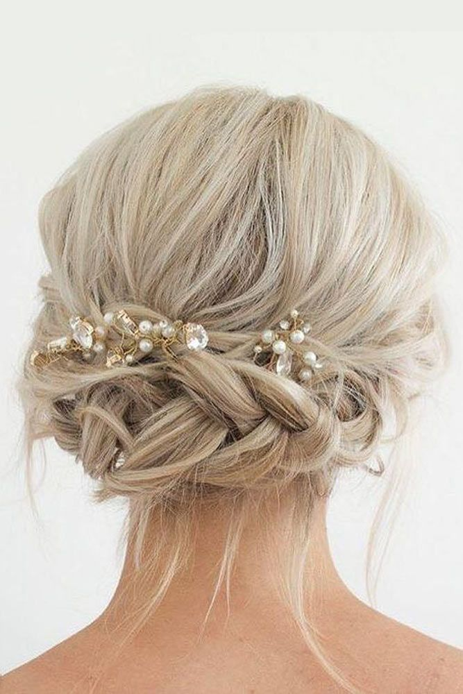 Try French Braids For That Special Day Blonde #mediumhair #updos