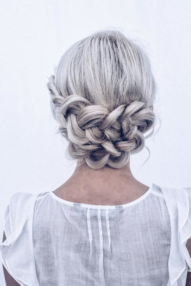 Try French Braids For That Special Day Low #mediumhair #updos