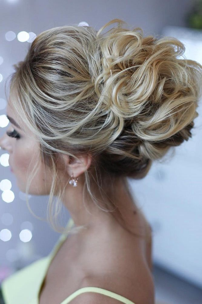High Buns For Medium Hair #mediumhair #updos