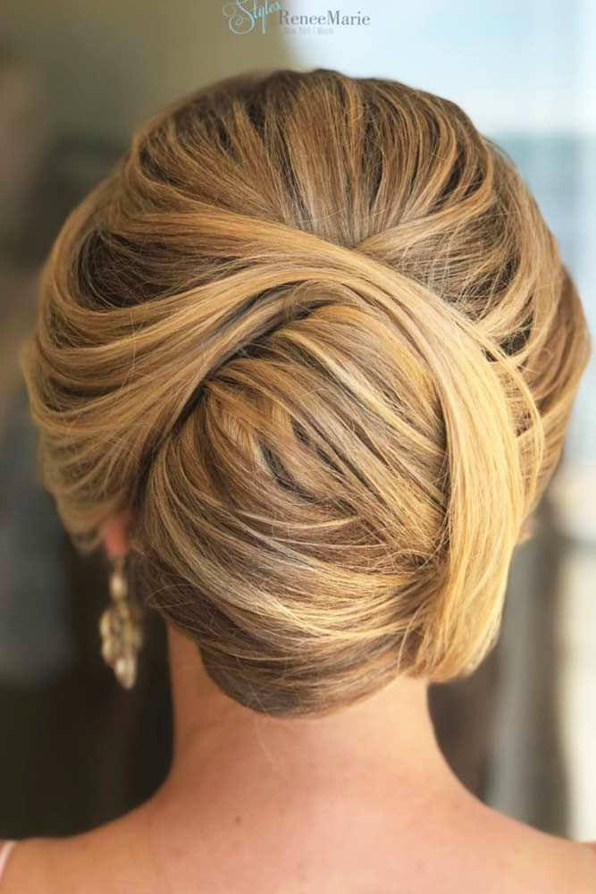Create Lovely French Twist Caramel #mediumhair #updos