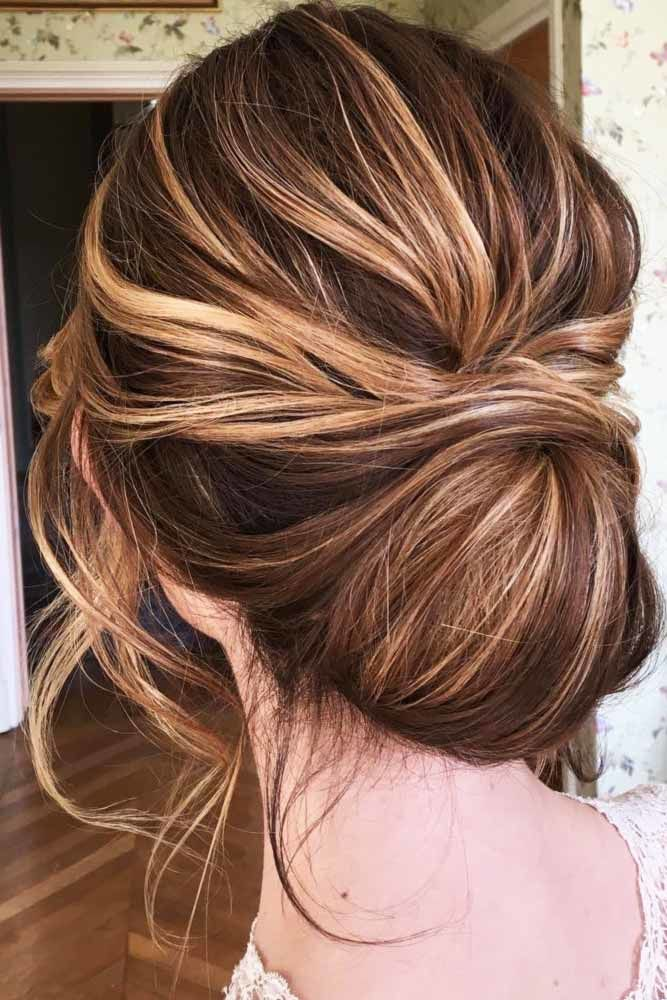 Create Lovely French Twist Highlights #mediumhair #updos