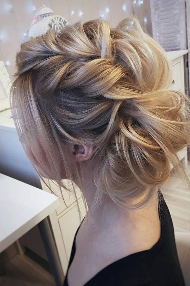 Side Trendy Updos Braid #mediumhair #updos