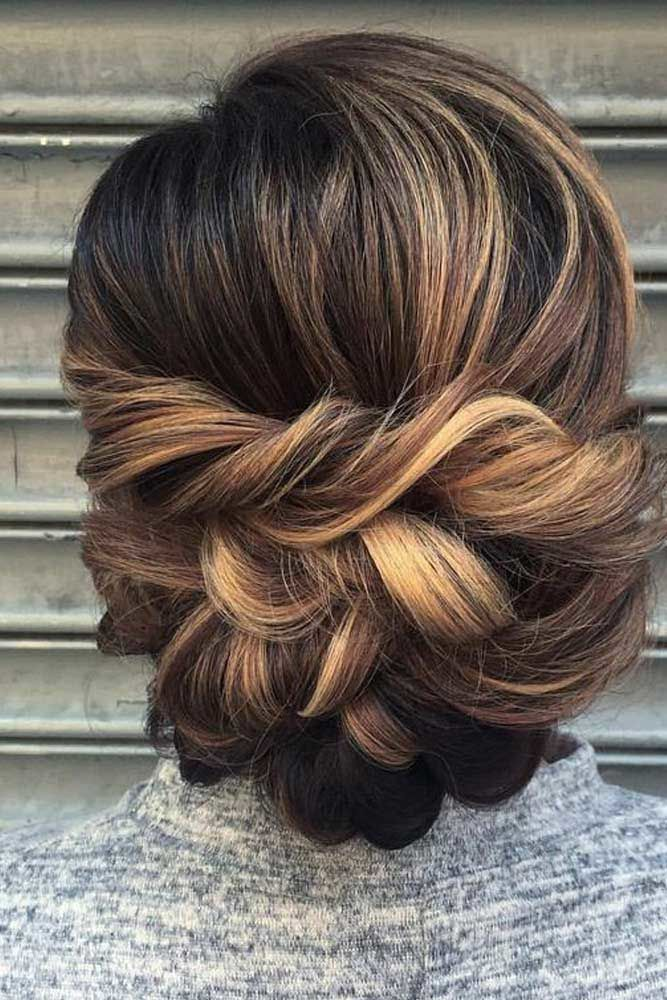 Try French Braids For That Special Day Highlights #mediumhair #updos