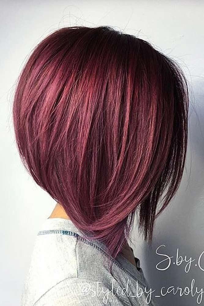 A-Line Bob Hairstyles for Fine Hair