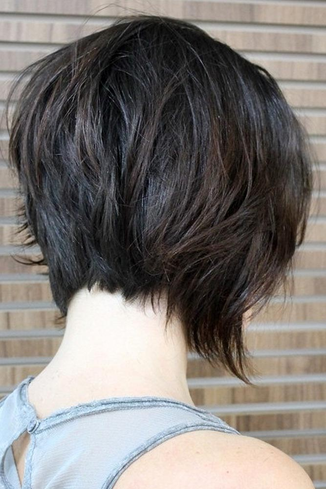 Disconnected A-Line Hairstyles