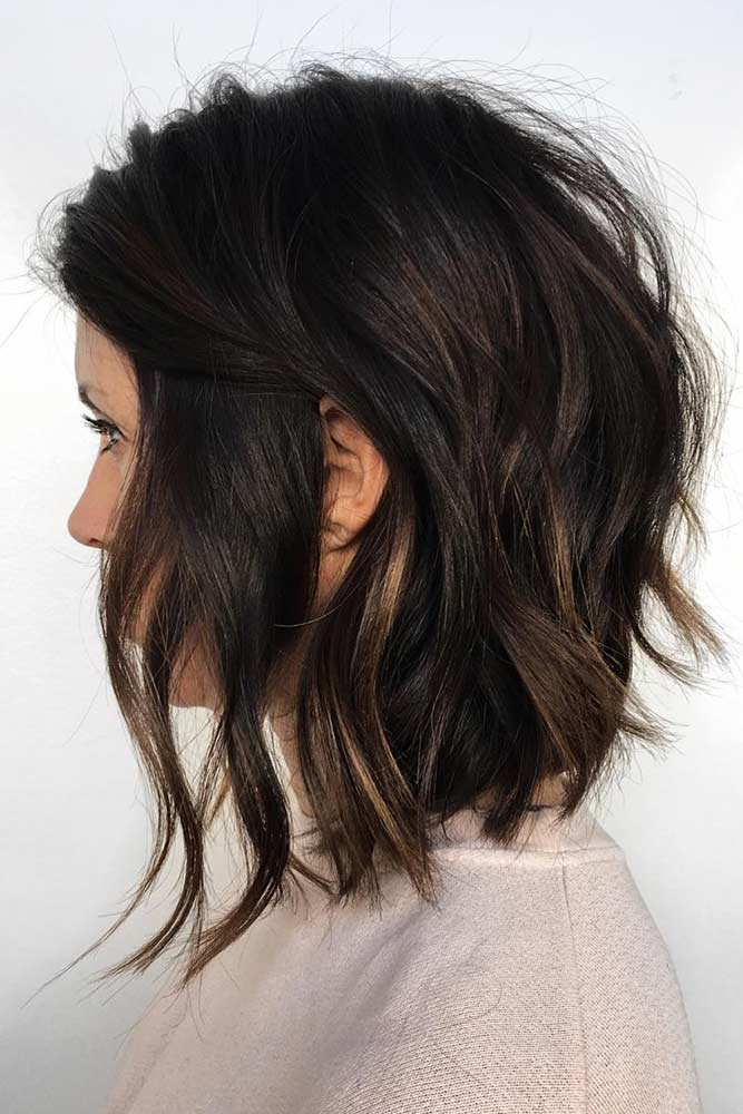 Longer Bob For Fine Hair #bob #wavyhair #mediumhair
