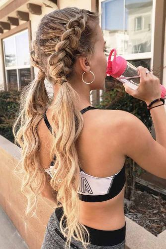 Ponytail And Braids Combo picture2