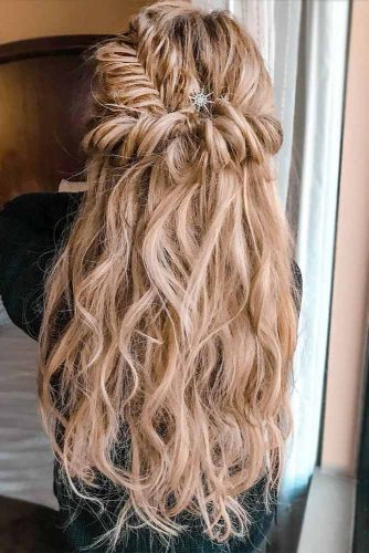 Half Up Half Down Charming Spring Hairstyles picture1