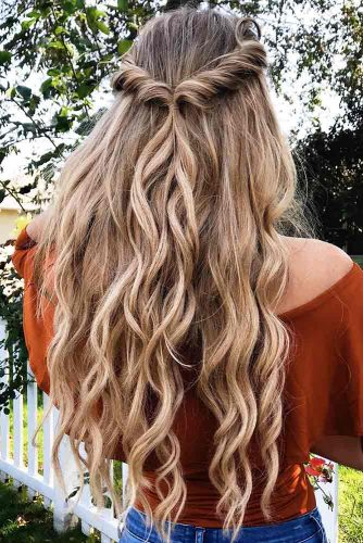 Half Up Half Down Charming Spring Hairstyles picture3