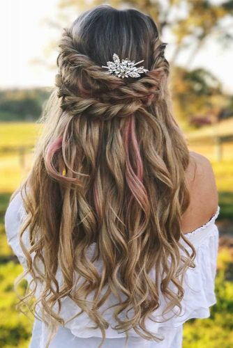 Half Up Half Down Charming Spring Hairstyles picture2