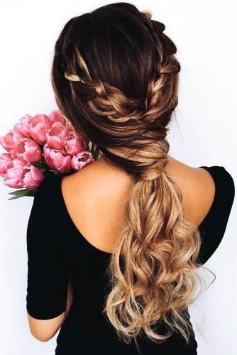 Fun and Fancy Hairstyles for Thick Hair