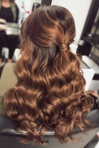 Half Up Hairstyles for Thick Hair picture3