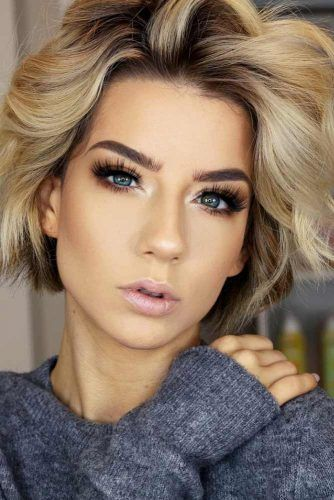Blonde Bob Hairstyles #hairstyles #thickhair #hairtype #bobhairstyles