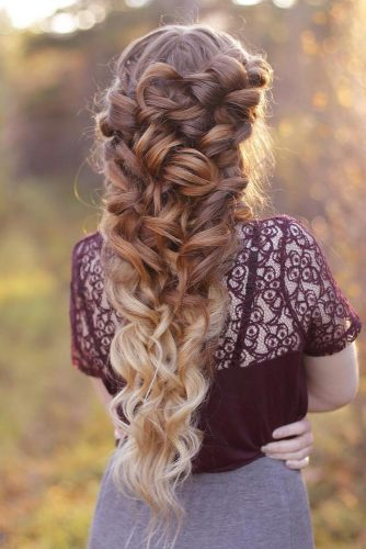 Fantastic Color Ideas for Bridesmaid Hairstyles picture 2