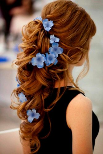 Flowered Bridesmaid Hairstyles picture 2