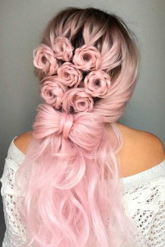 Braided Half Up Half Down Hairstyles picture3