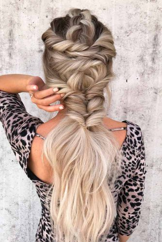 Braided Half Up Half Down Hairstyles picture1