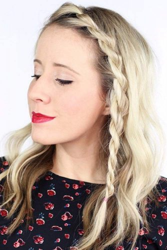 Side Rope Braids Styling #braids