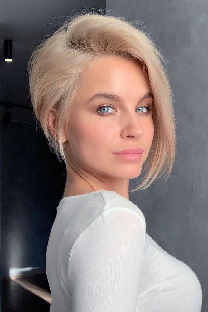 Asymmetrical Straight Pixie #thinhair #hairtypes