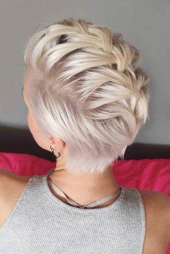 Braided Pixie #thinhair #hairtypes