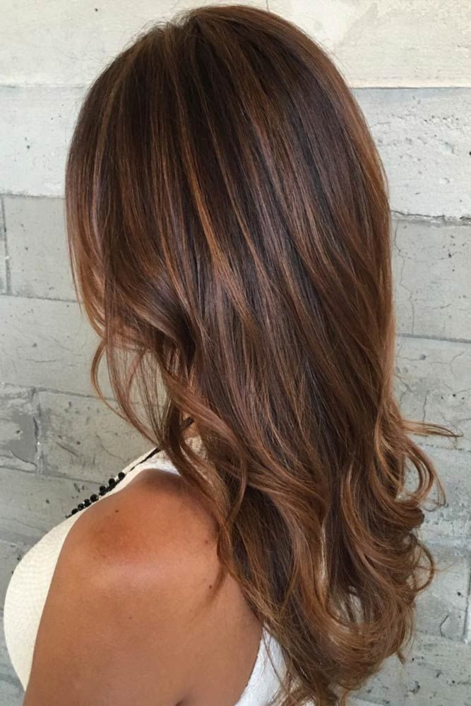 Long Hairstyles For Thin Hair Brown #thinhair #hairtypes
