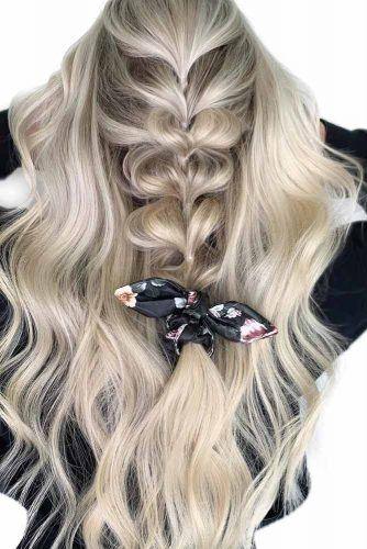 Bubble Braid For Long Hair #thinhair #hairtypes