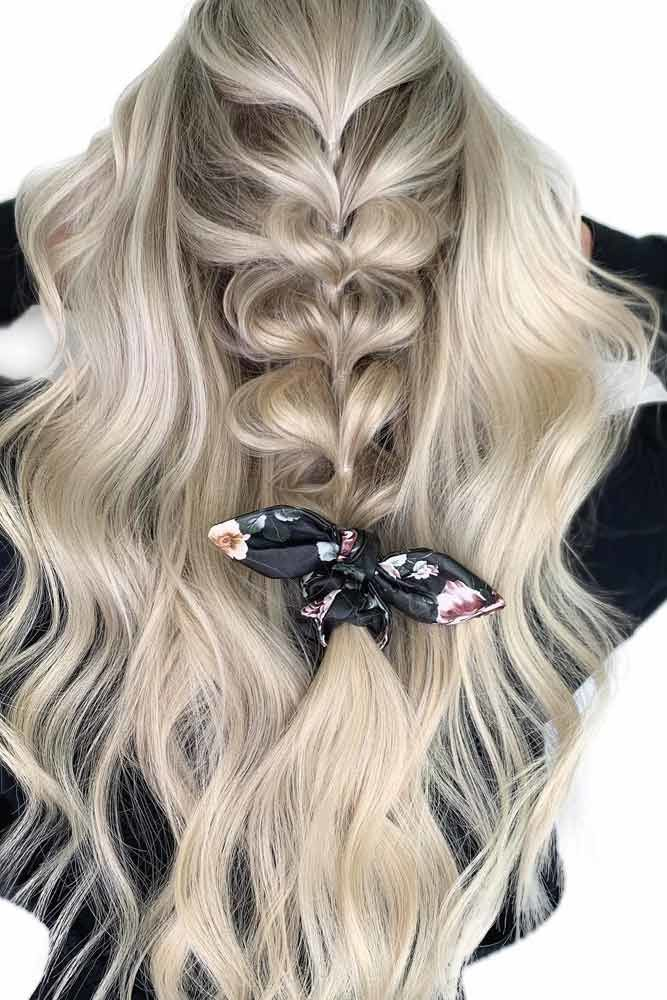 Bubble Braid For Long Hair #thinhair #hairtypes