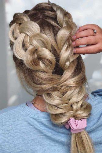 Double Dutch Braids #hairstylesforthinhair #hairstyles #thinhair #hairtype #braids