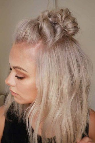 Faux Hawk Upstyle #thinhair #hairtypes