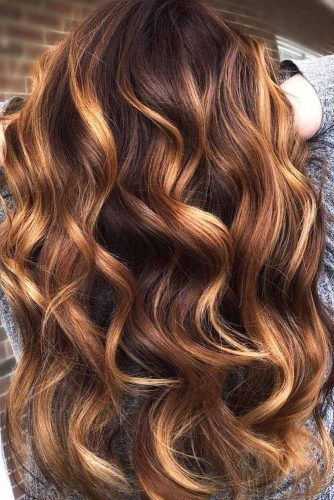 Long Layered Wavy Hairstyle #thinhair #hairtypes