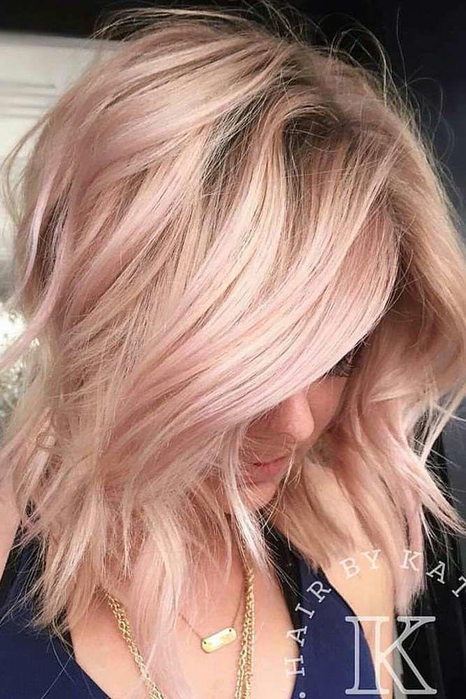 Shoulder Length Hairstyles For Thin Hair Rose #thinhair #hairtypes
