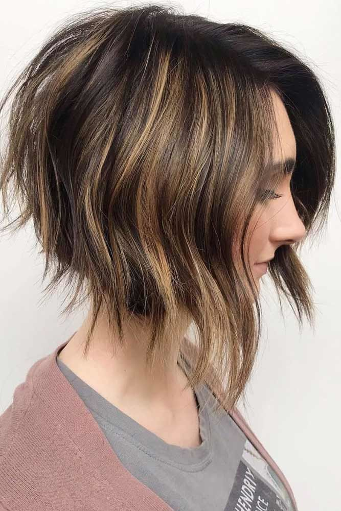 Stacked Textured Layers #thinhair #hairtypes