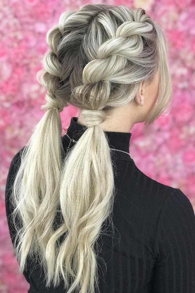 Twists Into Ponytails #hairstylesforthinhair #hairstyles #ponytail #thinhair