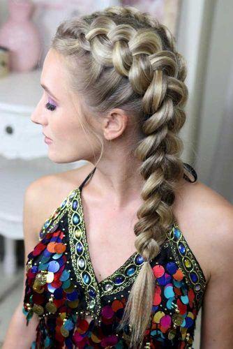 Double Dutch Braids #braids #thinhair