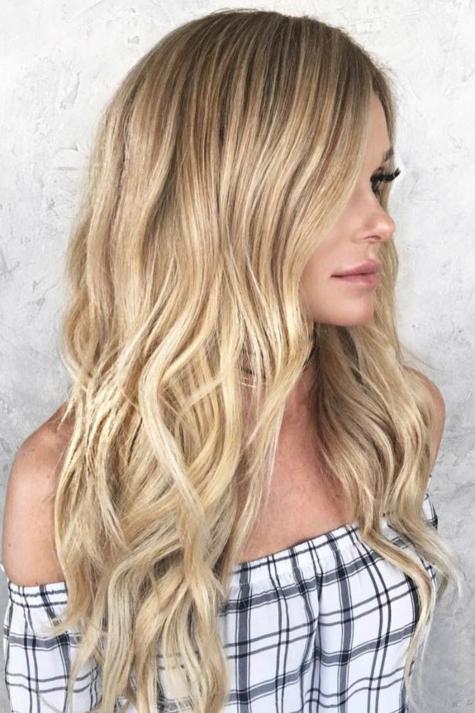 Long Hairstyles For Thin Hair Blonde #thinhair #hairtypes