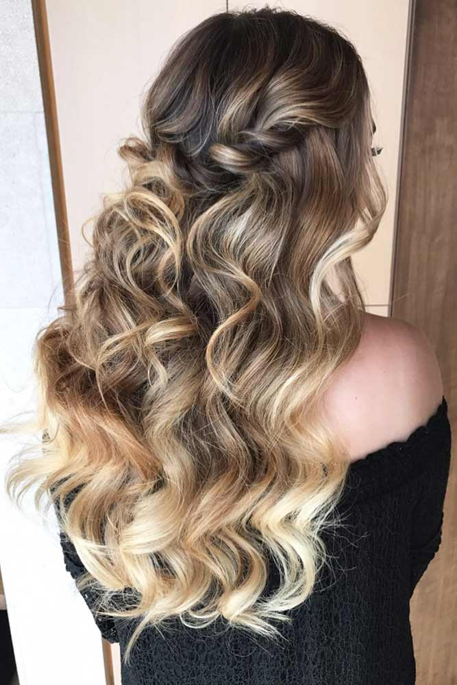 Versatile Twisted Half Up Hairstyles For Thin Hair #halfup #thinhair