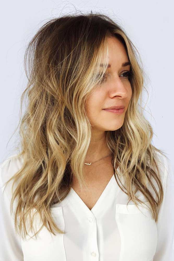 Shaggy Layers For Long Hair #layeredhaircuts #layeredhair #haircuts