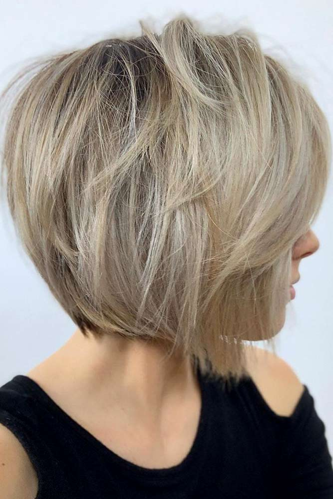Short Straight Bob #layeredhaircuts #layeredhair #haircuts