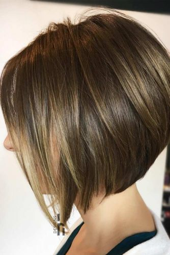 how to cut a layered bob haircut yourself