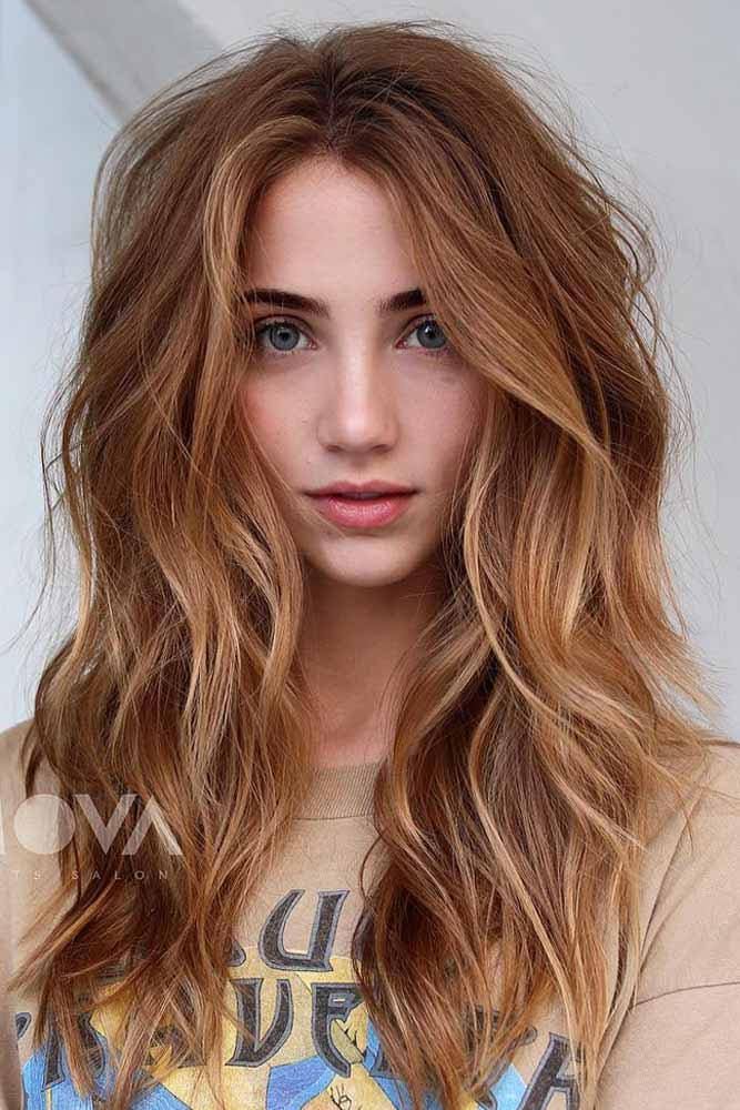 Textured Long Layers #layeredhaircuts #layeredhair #haircuts