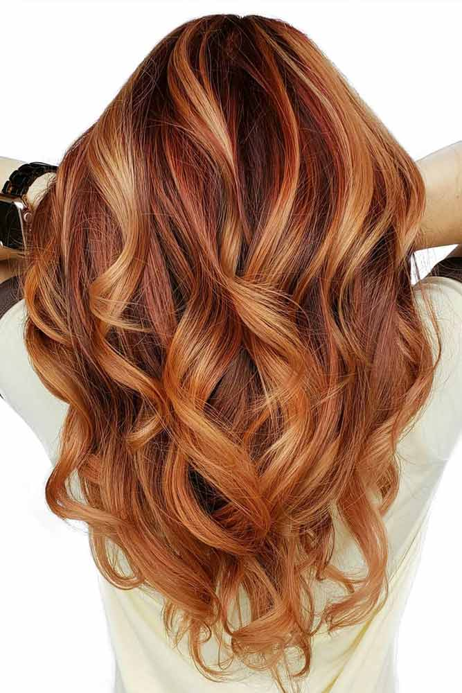 Long Disconnected Wavy Layers #layeredhaircuts #layeredhair #haircuts