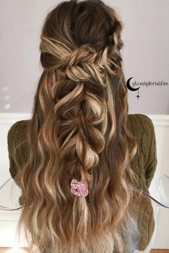 Long Hairstyles with Braids picture2