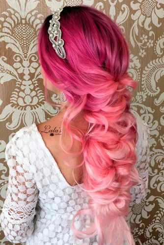 Hairstyles for Magenta Hair picture 1