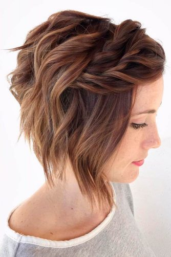 Twisted and Braided Hairstyles for Medium Length picture 1