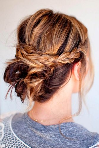 Twisted and Braided Hairstyles for Medium Length picture 2