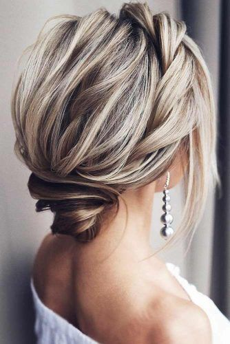 Charming Twists Updos To Wear At Date Night #mediumlength #updo #bun